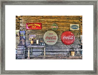American Pickers Paradise Framed Print by Benanne Stiens