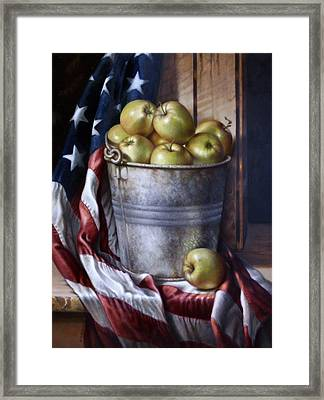 American Pie Framed Print by William Albanese Sr