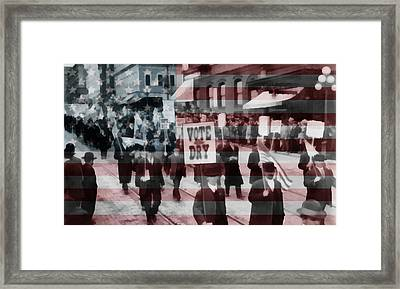 American Prohibition March Framed Print by Dan Sproul