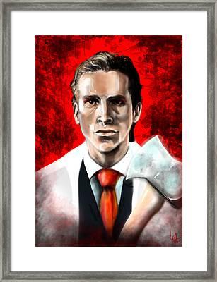 American Psycho Framed Print by Vinny John Usuriello