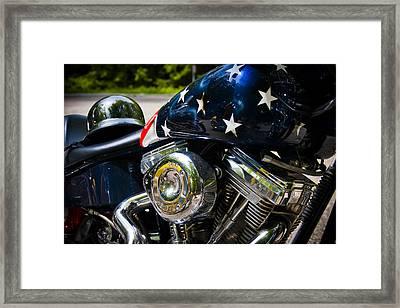 American Ride Framed Print by Adam Romanowicz
