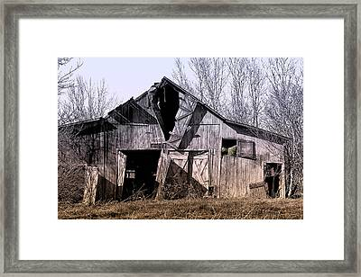 American Rural Framed Print by Tom Mc Nemar