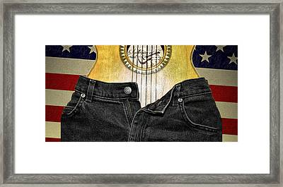 American Woman Framed Print by Bill Cannon