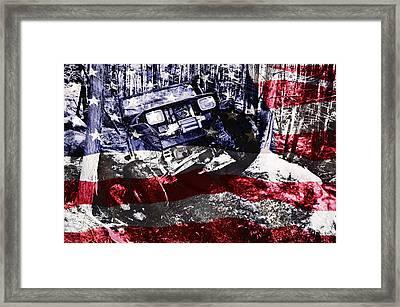 American Wrangler Framed Print by Luke Moore