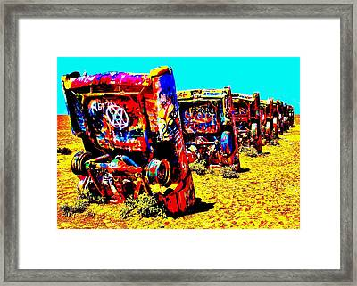 Americana Framed Print by Benjamin Yeager
