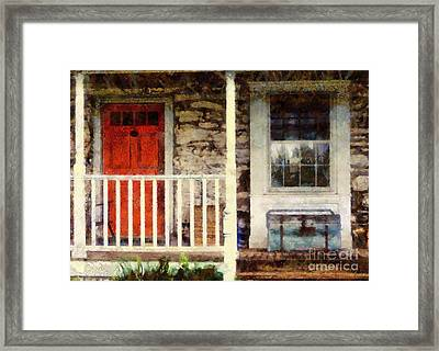 Americana Framed Print by Janine Riley