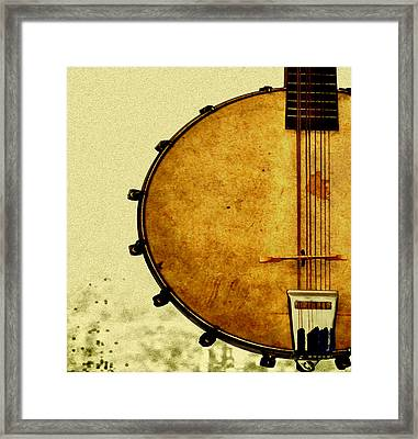 Americana Music Framed Print by Bill Cannon