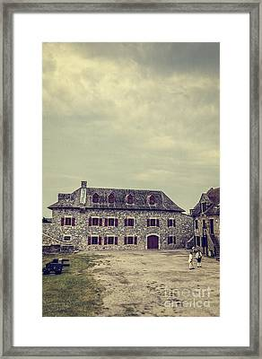 Fort Ticonderoga Framed Print by Edward Fielding
