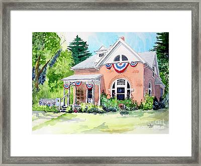 Americana Framed Print by Tom Riggs