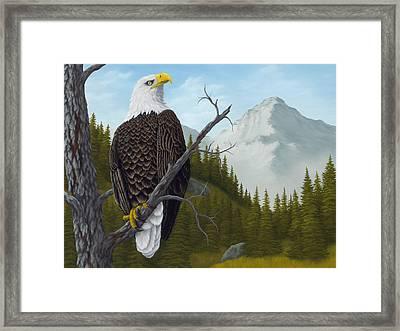 America's Pride Framed Print by Rick Bainbridge