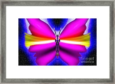 Amethyst Harmony Framed Print by Raymel Garcia