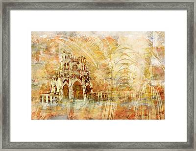 Amiens Cathedral Framed Print by Catf