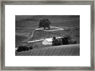 Amish Land Framed Print by Dan Sproul
