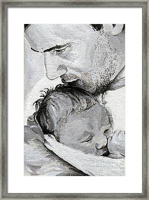 Amit And Mika Framed Print by Tamir Barkan