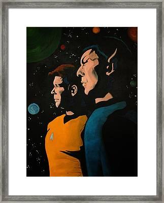 Among Stars Framed Print by Judith Groeger