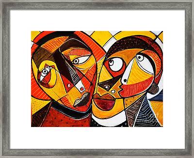 Amor Framed Print by Robert Daniels