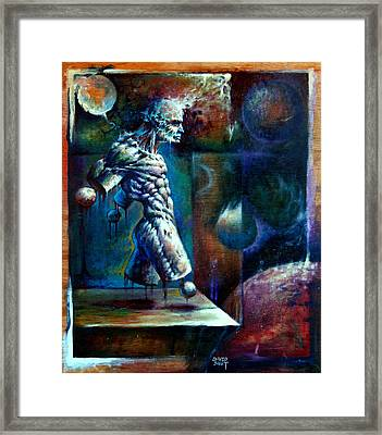 Amputee Framed Print by David Bollt