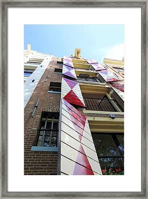 Amsterdam Architecture Framed Print by Sophie Vigneault