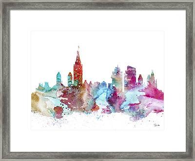 Amsterdam Framed Print by Lyubomir Kanelov