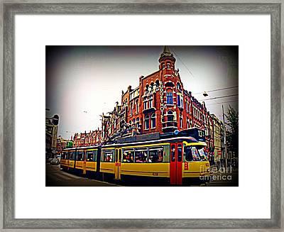 Amsterdam Transportation Framed Print by John Malone