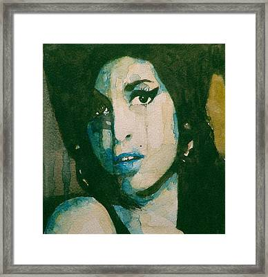 Amy Framed Print by Paul Lovering