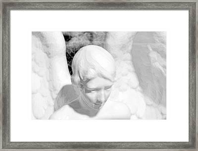 An Angel  Framed Print by Toppart Sweden