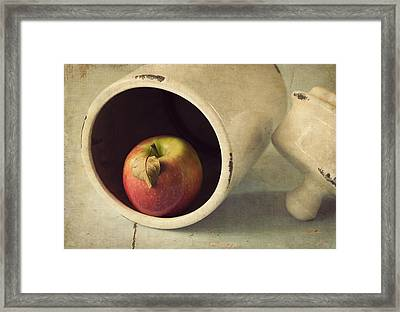 An Apple A Day... Framed Print by Amy Weiss