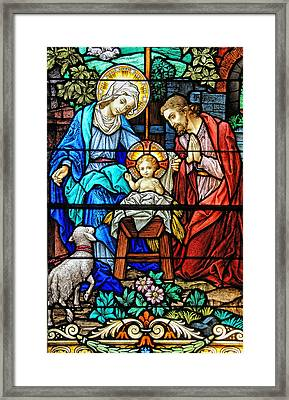 An Authentic Merry Christmas Framed Print by Bonnie Barry