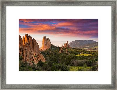 An Early Summer Morning Framed Print by Tim Reaves