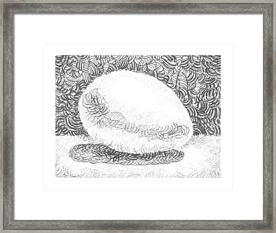 An Egg Study Three Framed Print by Irina Sztukowski