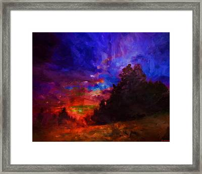 An End Is Merely A Beginning Framed Print by Joe Misrasi