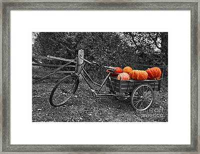An English Halloween Framed Print by Nick Wardekker