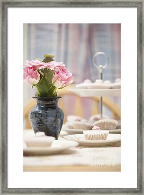 An Invitation To Indulge Framed Print by Anne Gilbert