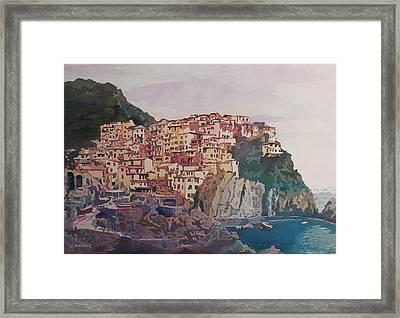 An Italian Jewel Framed Print by Jenny Armitage