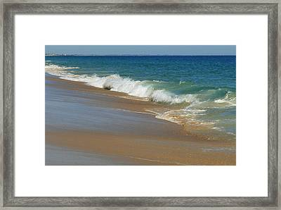An Ocean View  Framed Print by Neal  Eslinger