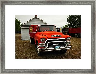 An Old Gmc  Framed Print by Jeff Swan