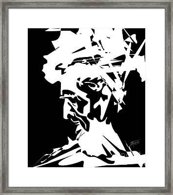 An Old Man Framed Print by Alex Tavshunsky