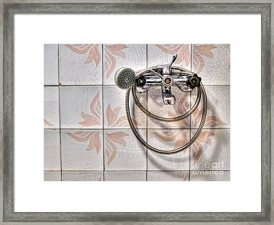 An Old Shower Framed Print by Sinisa Botas