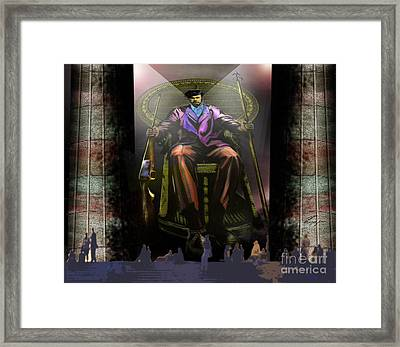 An Unmarked Grave Framed Print by Reggie Duffie