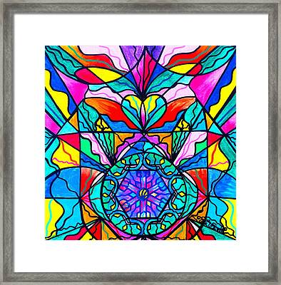 Anahata Framed Print by Teal Eye  Print Store