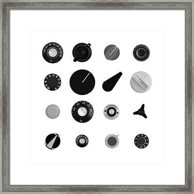 Analog Control II Framed Print by Jim Hughes