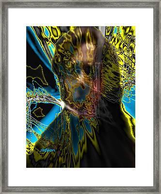 Analysis Paralysis Framed Print by Seth Weaver