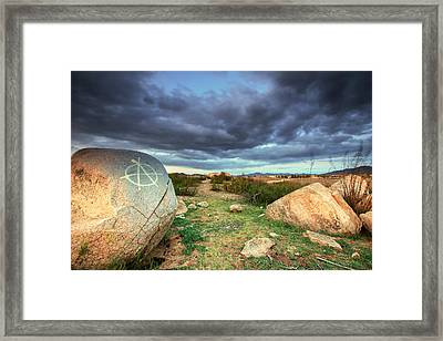 Anarchy Framed Print by Robert  Aycock