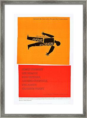 Anatomy Of A Murder, 1959 Framed Print by Everett