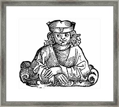 Anaximander Framed Print by Universal History Archive/uig