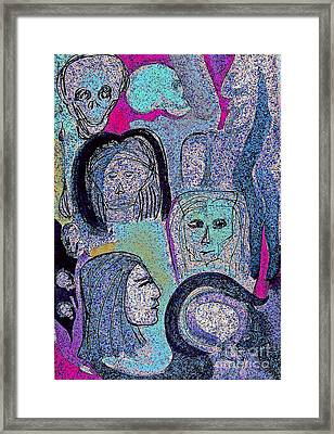 Ancestral Cave Framed Print by First Star Art