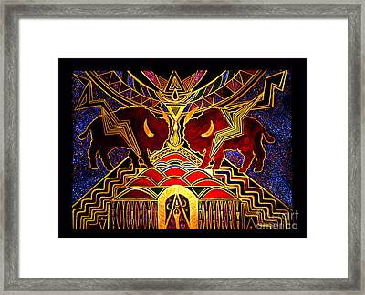 Ancestral Invocation Framed Print by Susanne Still