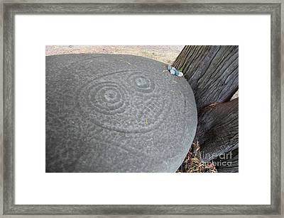Ancient Aliens Framed Print by Graham Foulkes