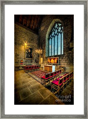 Ancient Cathedral Framed Print by Adrian Evans