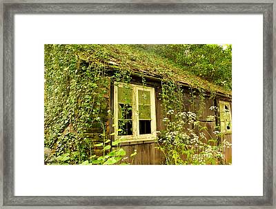 Ancient Cottage Framed Print by Rene Triay Photography